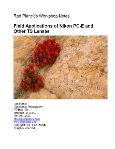 Field Applications of Nikon PC-E and Other TS Lenses