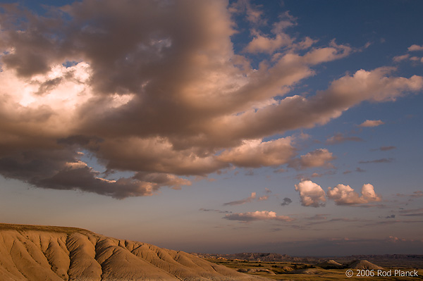 Clouds, Badlands National Park, South Dakota