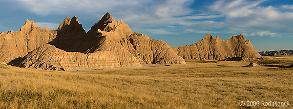 Badlands Formations, Badlands National Park, South Dakota
