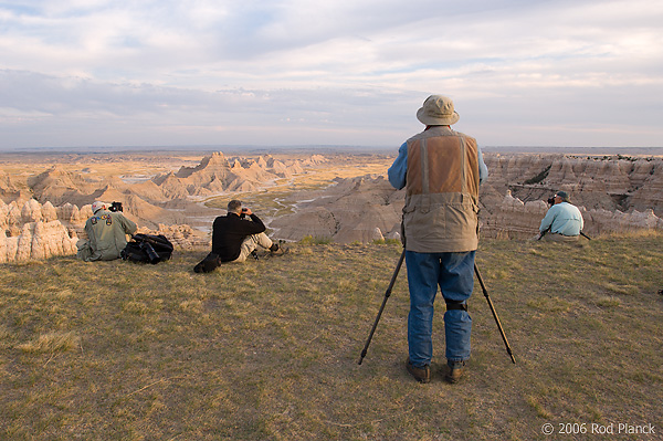 Workshop Participants, Badlands National Park, South Dakota