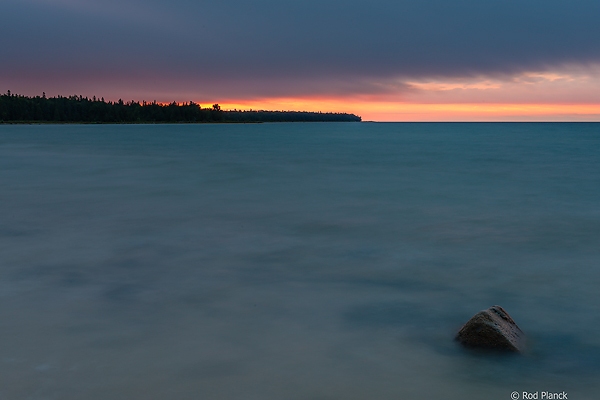 Lake Superior Shoreline, At Sunrise, Foggy Bogs and Dewy Insects Workshop