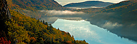 Lake of the Clouds, Morning, October 2, 2005, Stitch Pan, Porcupine Mountains Wilderness State Park, Michigan