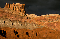 Castle Formation, Capitol Reef National Park