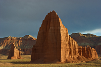 Temples of the Sun and Moon Capitol Reef National Park Utah